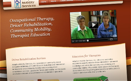 Adaptive Mobility Services, Orlando Website Design by Pixel Chefs